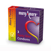 Tasty Skin Condoms (3pcs) MoreAmore 42153
