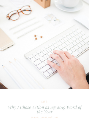 Why I Chose Action as my 2019 Word of the Year