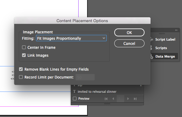 Data Merge in Adobe InDesign: How to Set Up Variable