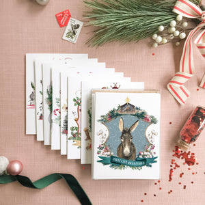 Christmas Crests Collection No. 2 Assorted Greeting Card Box Set