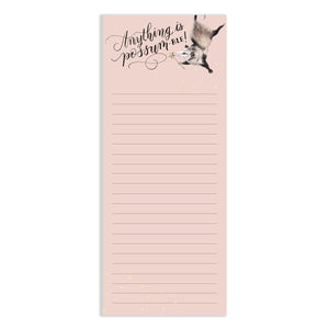 Anything is Possum-ble Watercolor Notepad