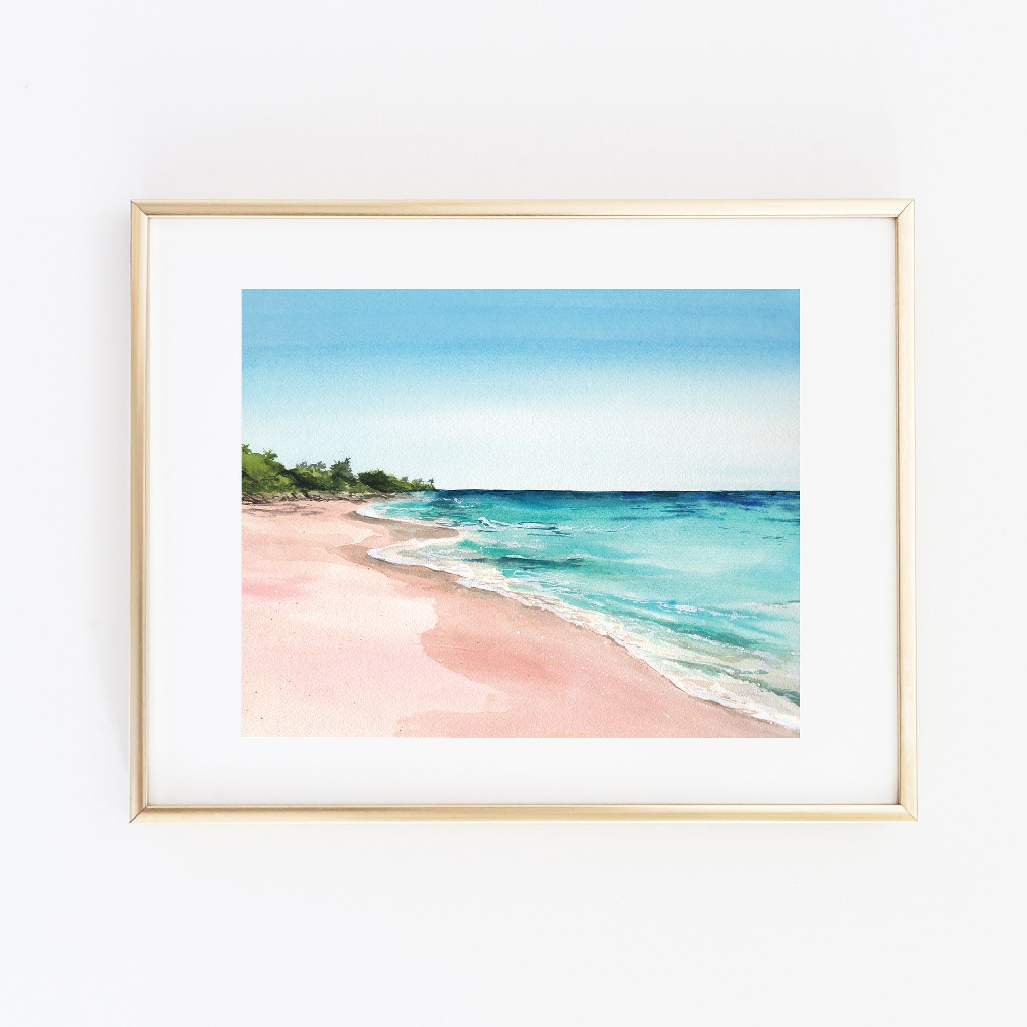 Bermuda Beach Art Print