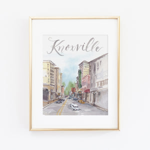 Knoxville Art Print