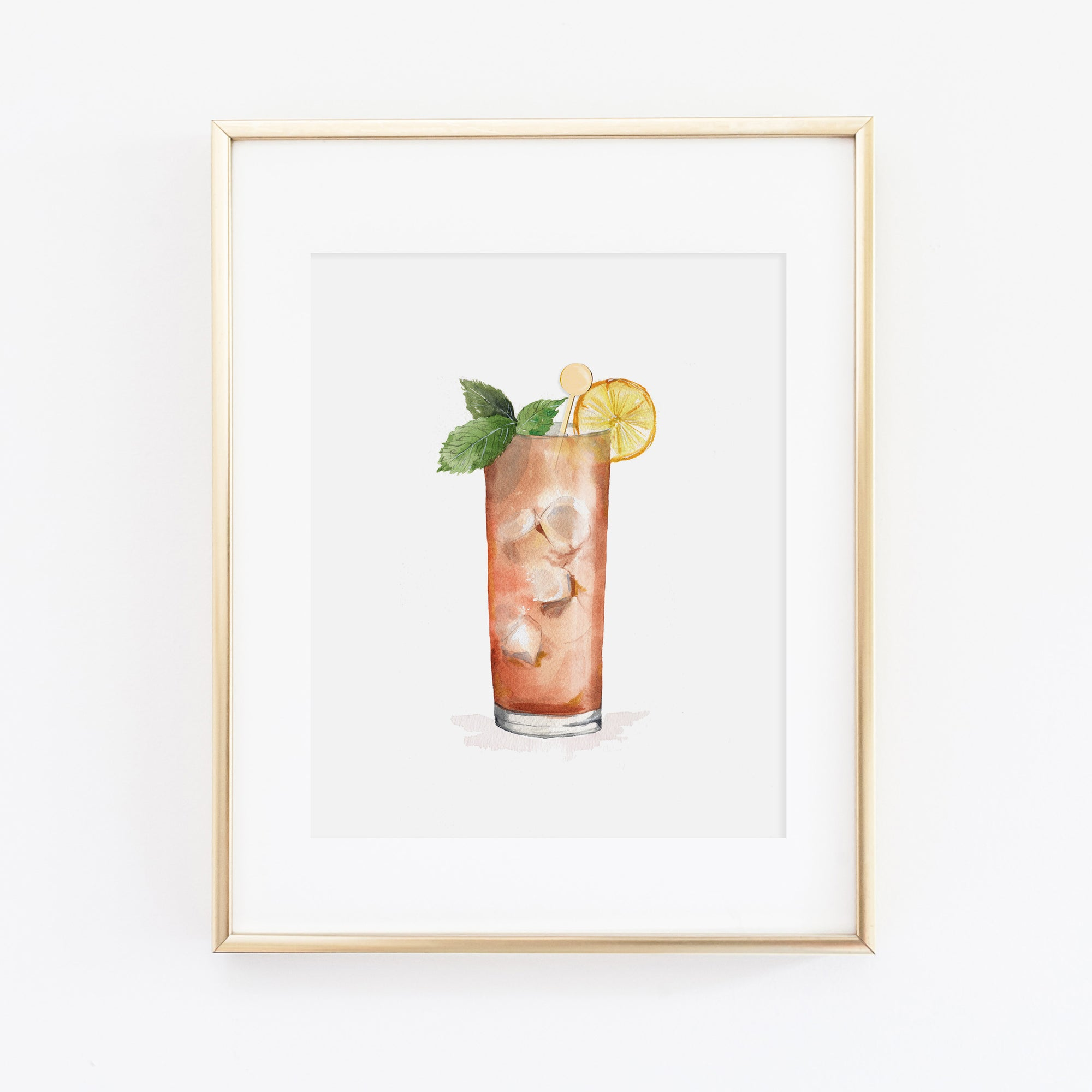 Long Island Ice Tea Art Print