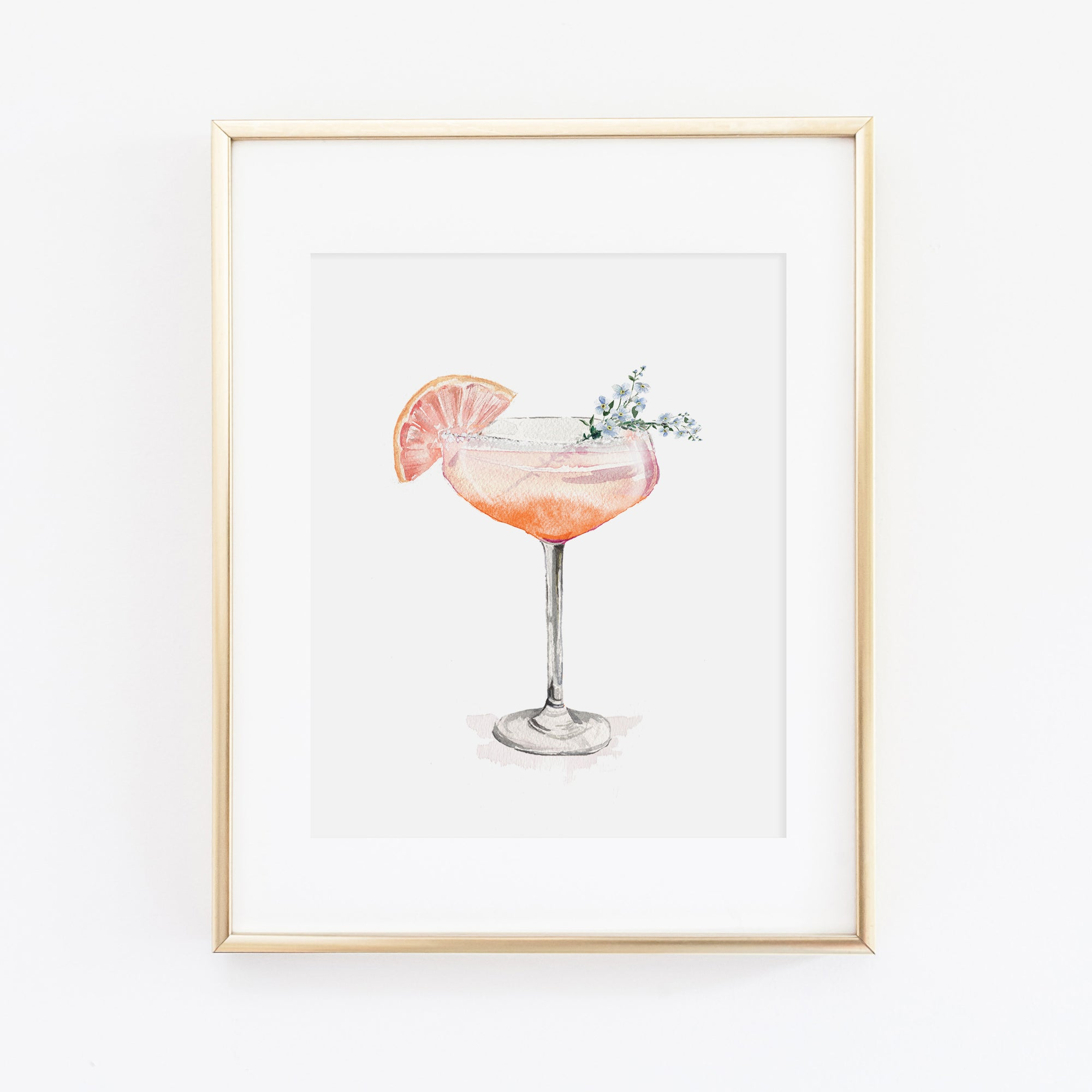 Champagne Coupe Art Print