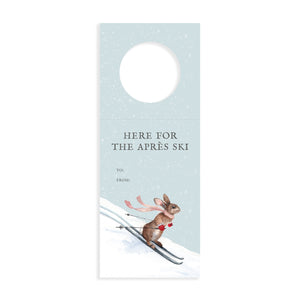 Here for the Apres Ski Wine Tags