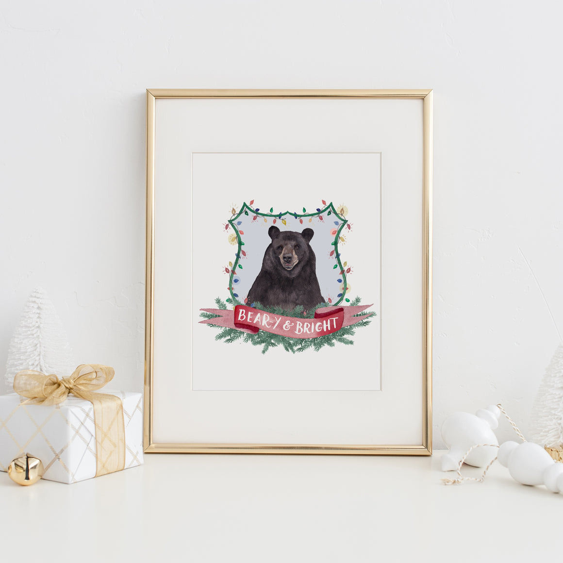 Beary and Bright Art Print
