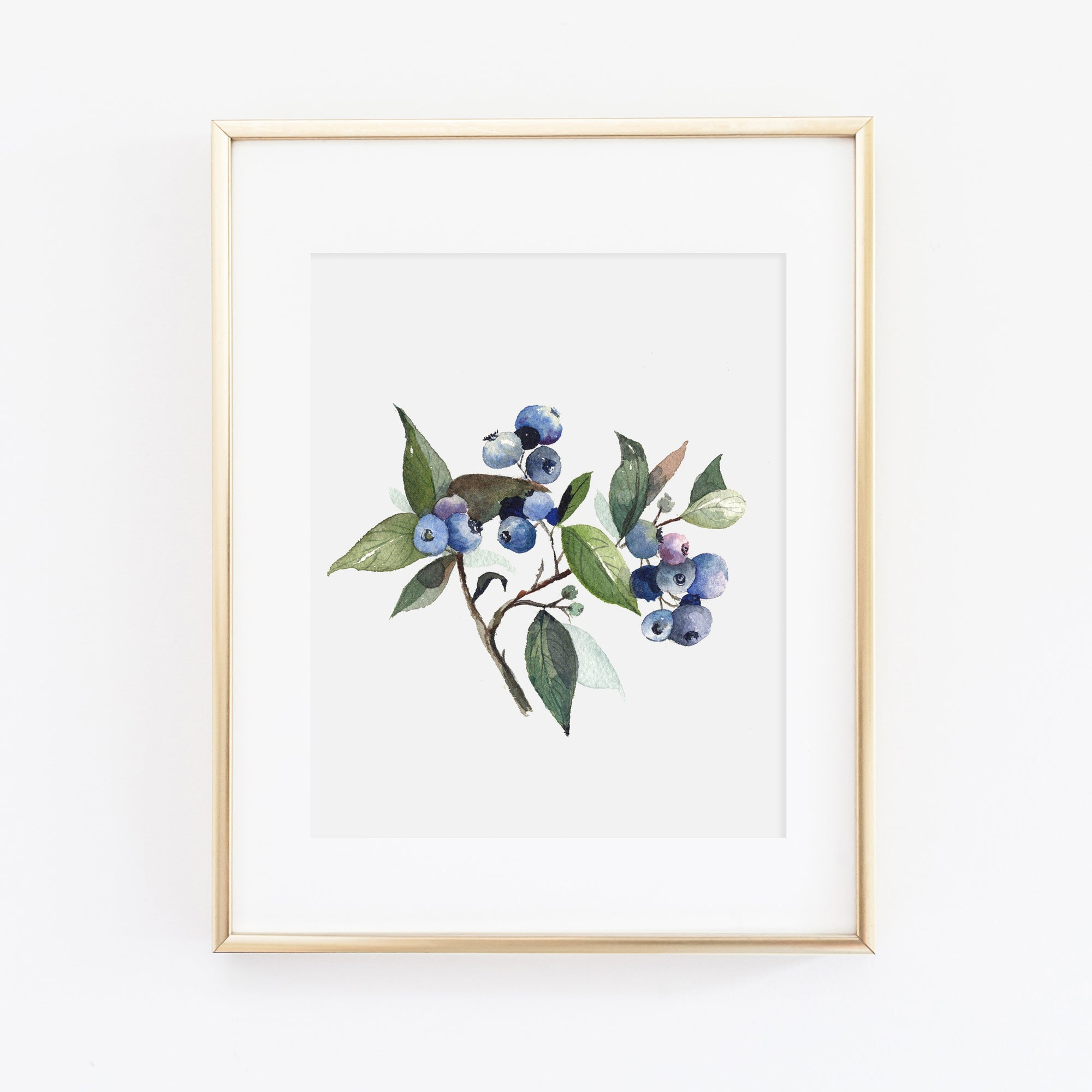 Blueberry Art Print