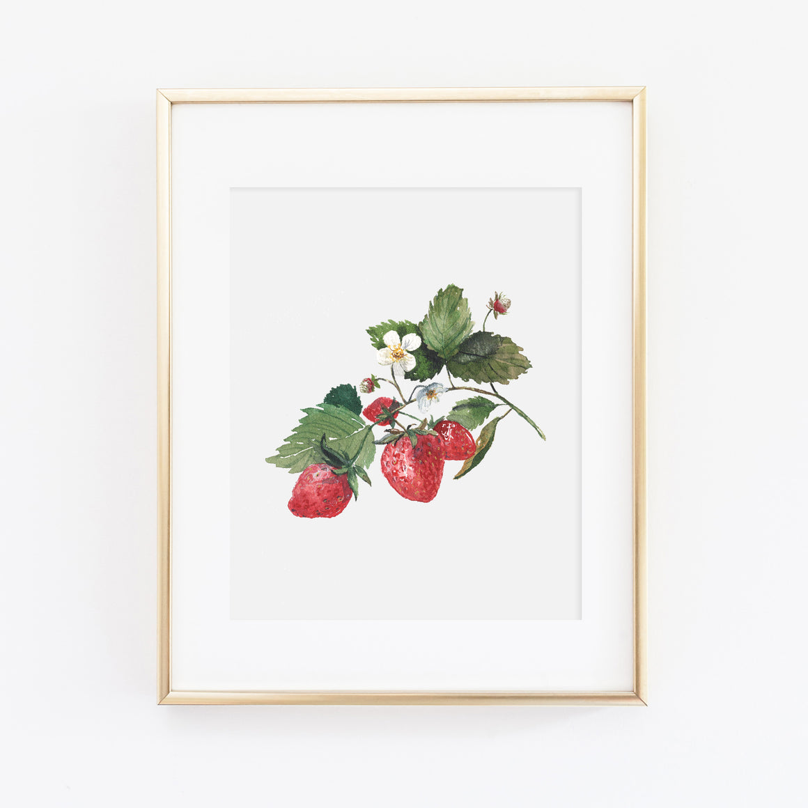 Strawberry Art Print