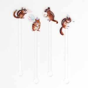 Chip, Chip, Hooray Acrylic Stir Sticks
