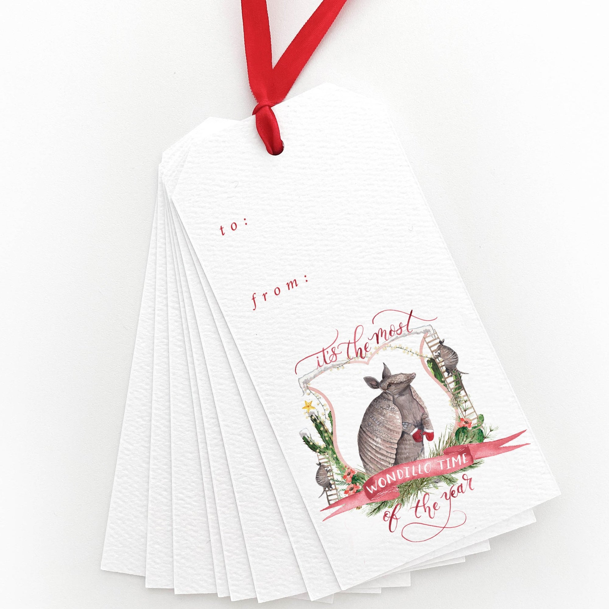 It's the Most Wondillo Time of the Year Gift Tags