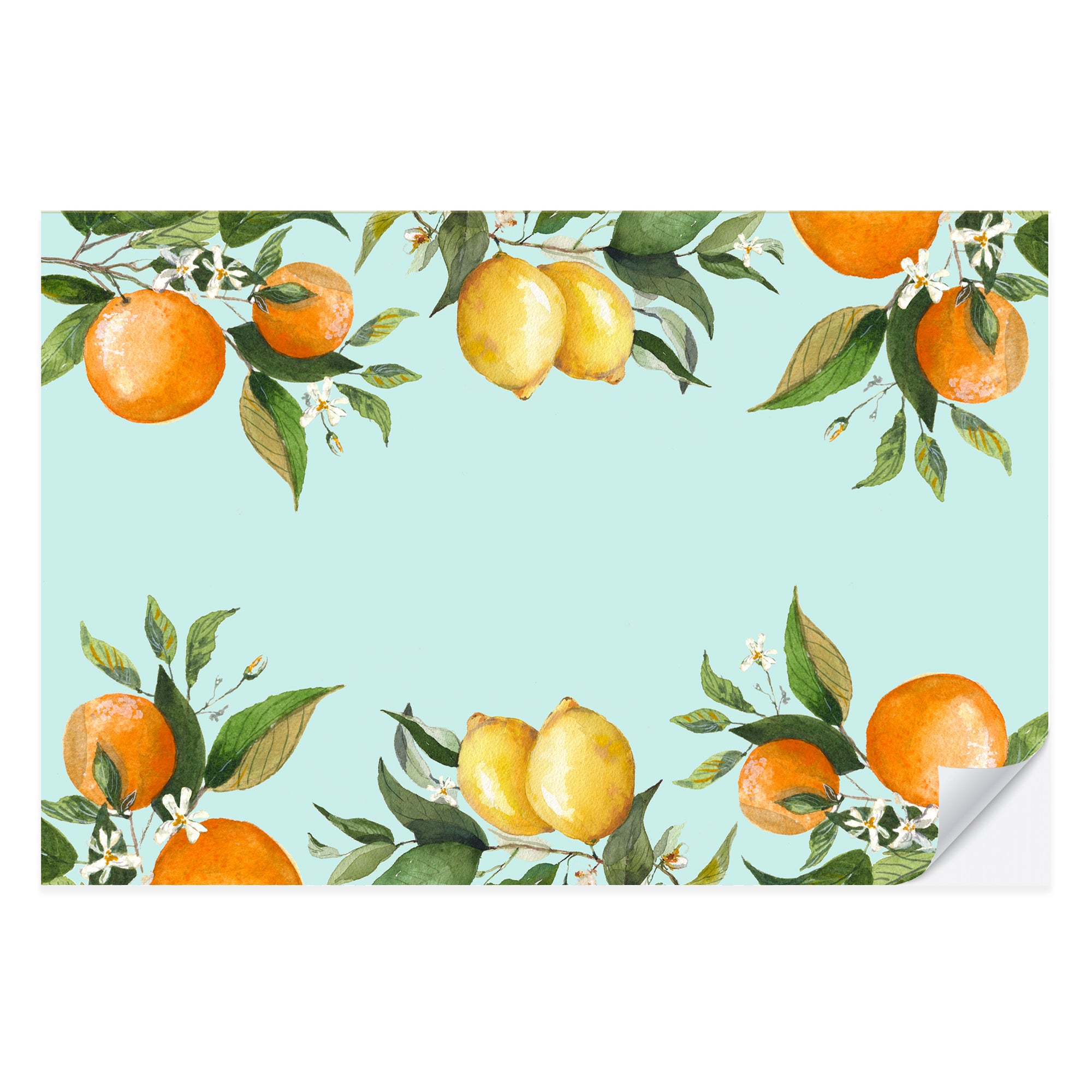Zesty Citrus Placemat Pad