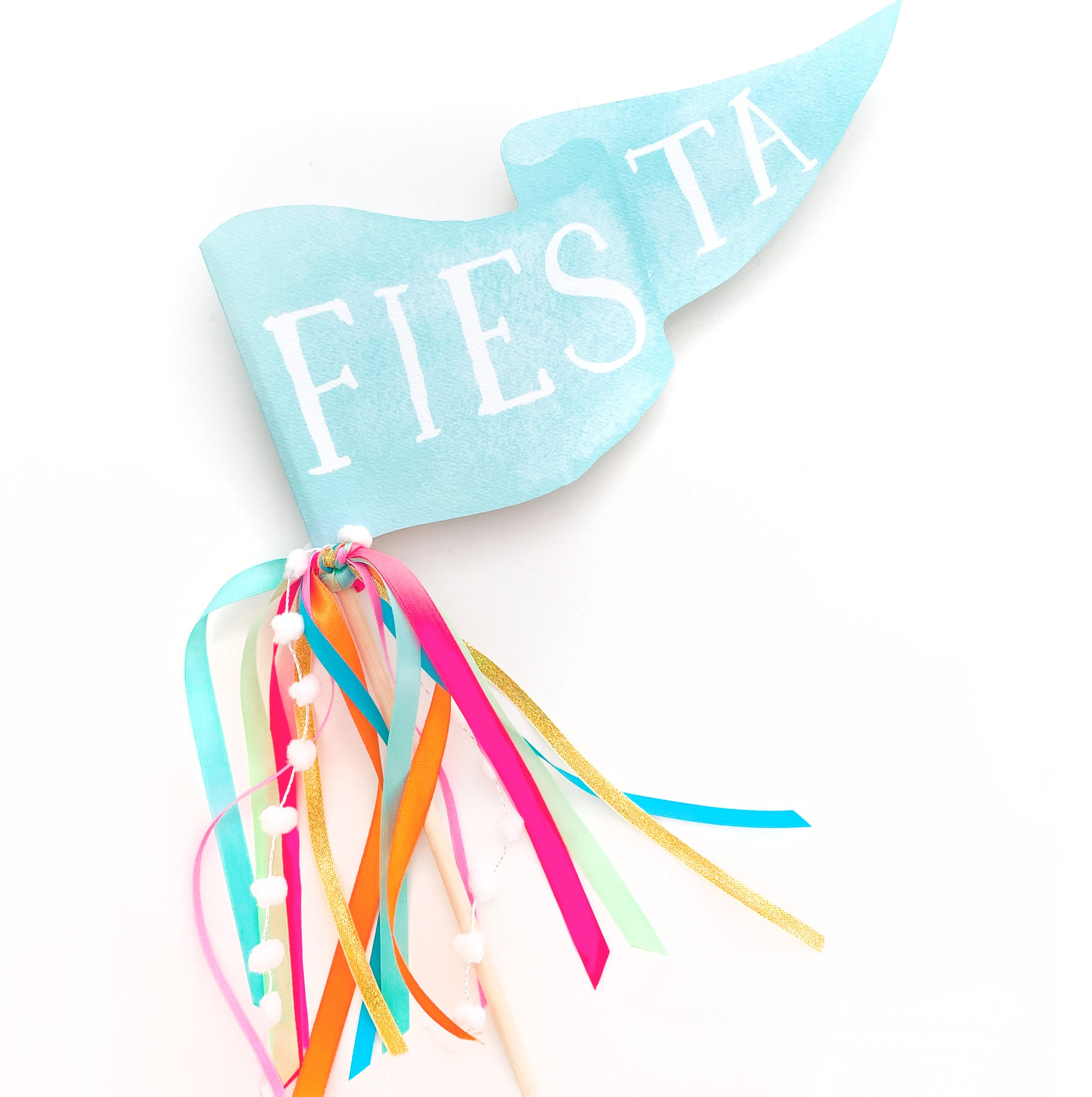 Fiesta Party Pennant