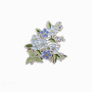 Forget Me Not Enamel Pin
