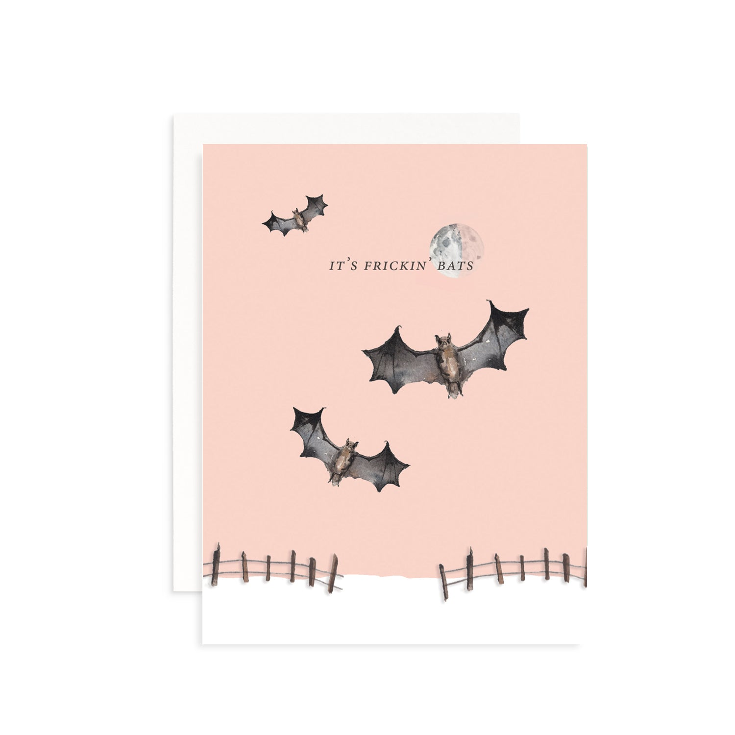 It's Frickin' Bats Greeting Card