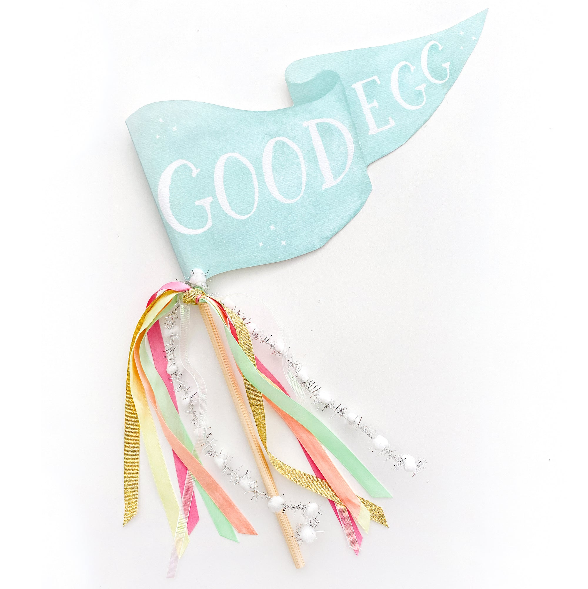 Good Egg Party Pennant