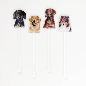 Hair of the Dog Acrylic Stir Sticks