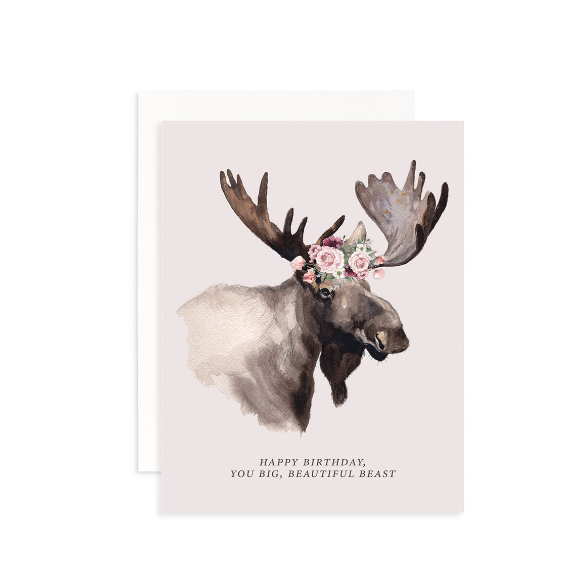 Big, Beautiful Beast Greeting Card
