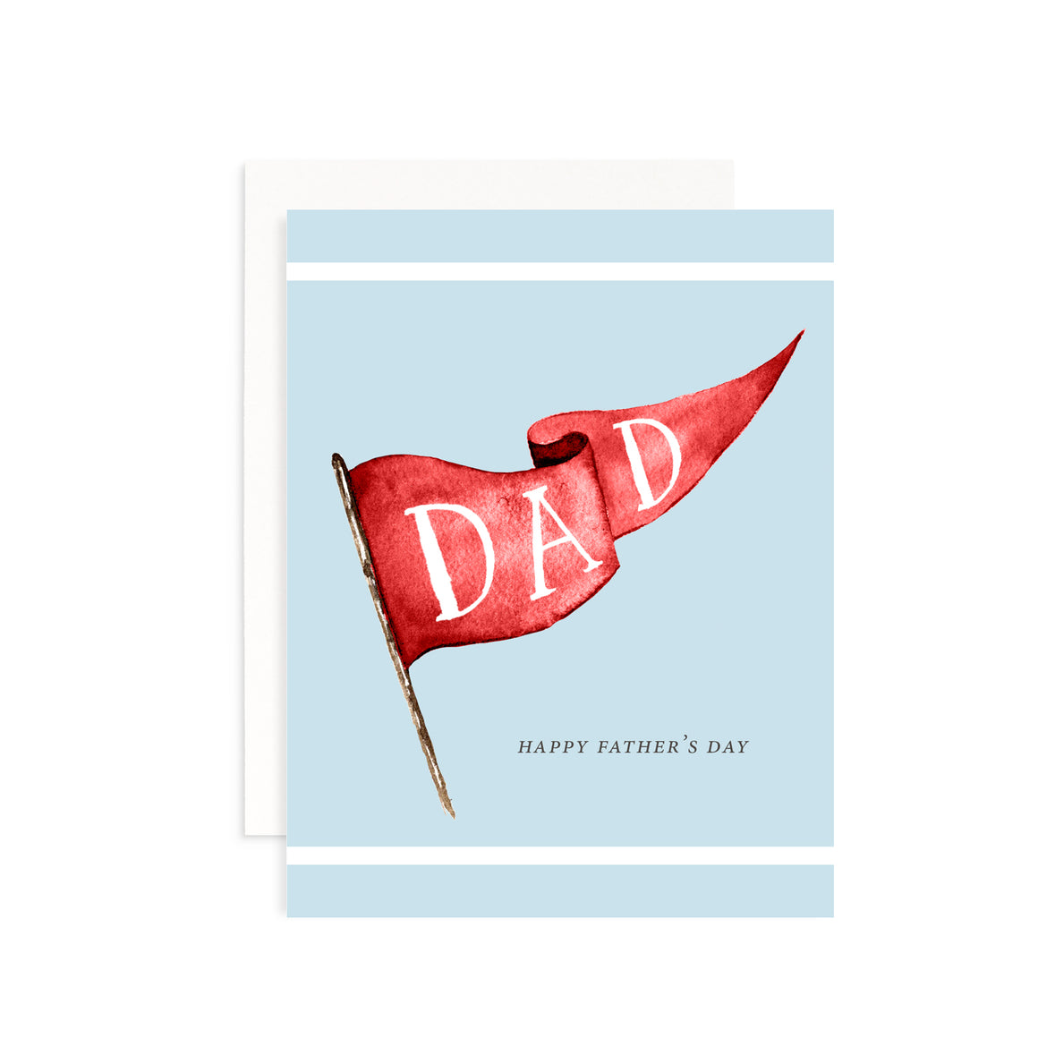 Dad Banner Greeting Card