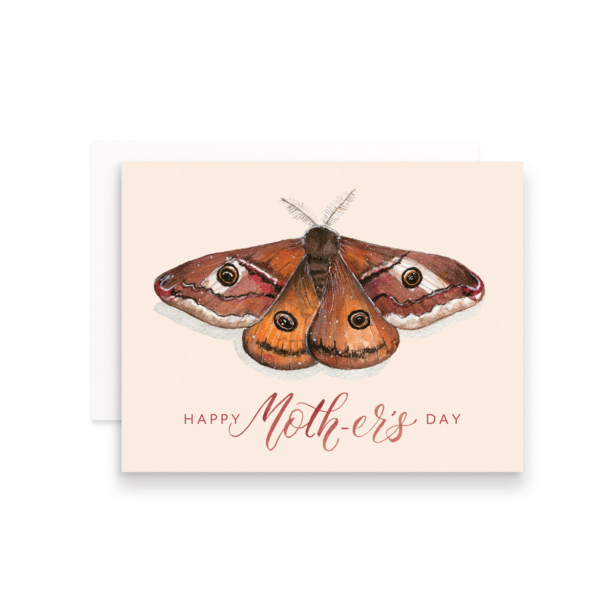 Happy Moth-er's Day Greeting Card