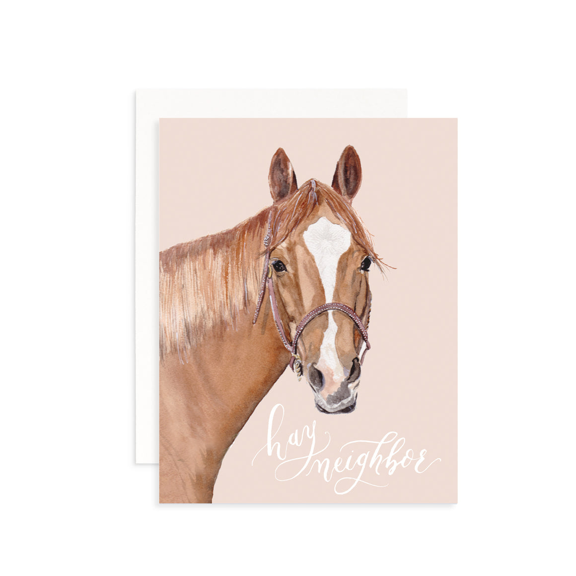 Hay Neighbor Greeting Card