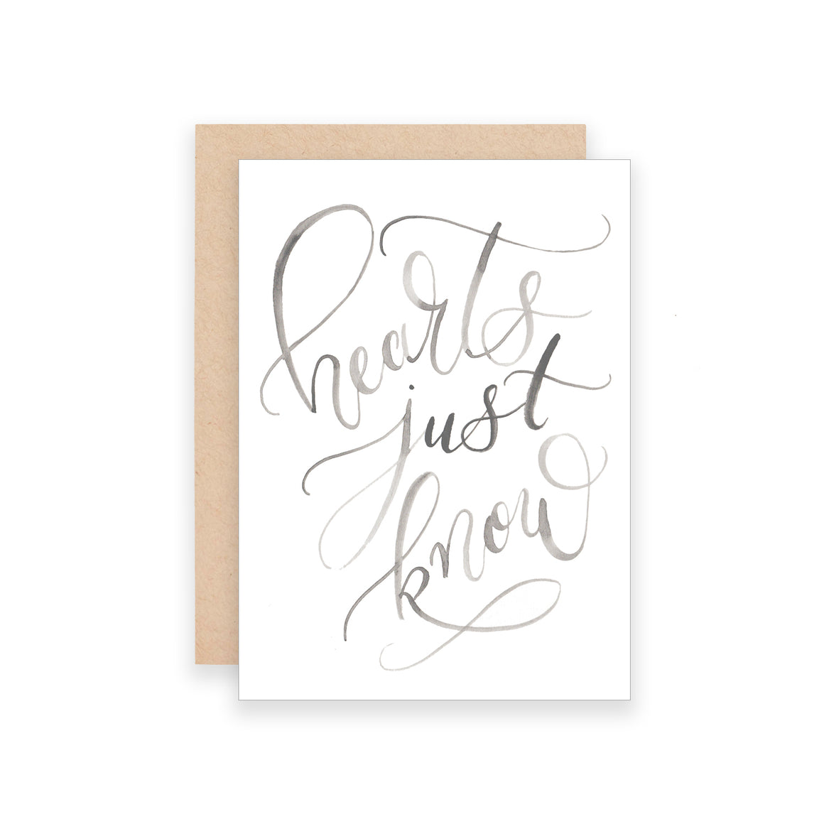 Hearts Just Know Greeting Card