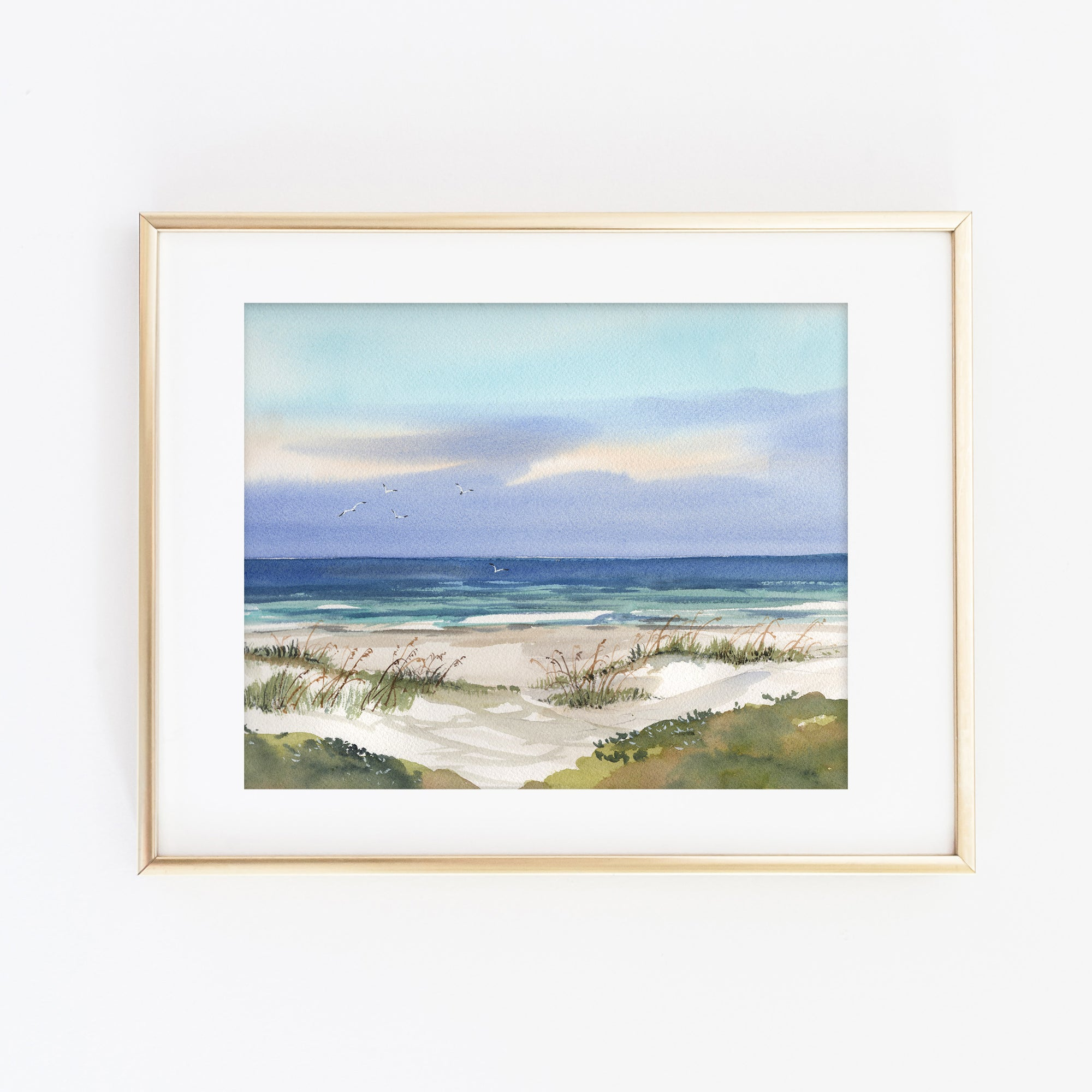 Hilton Head Beach Art Print