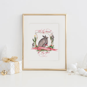 It's the Most Wondillo Time of the Year Art Print