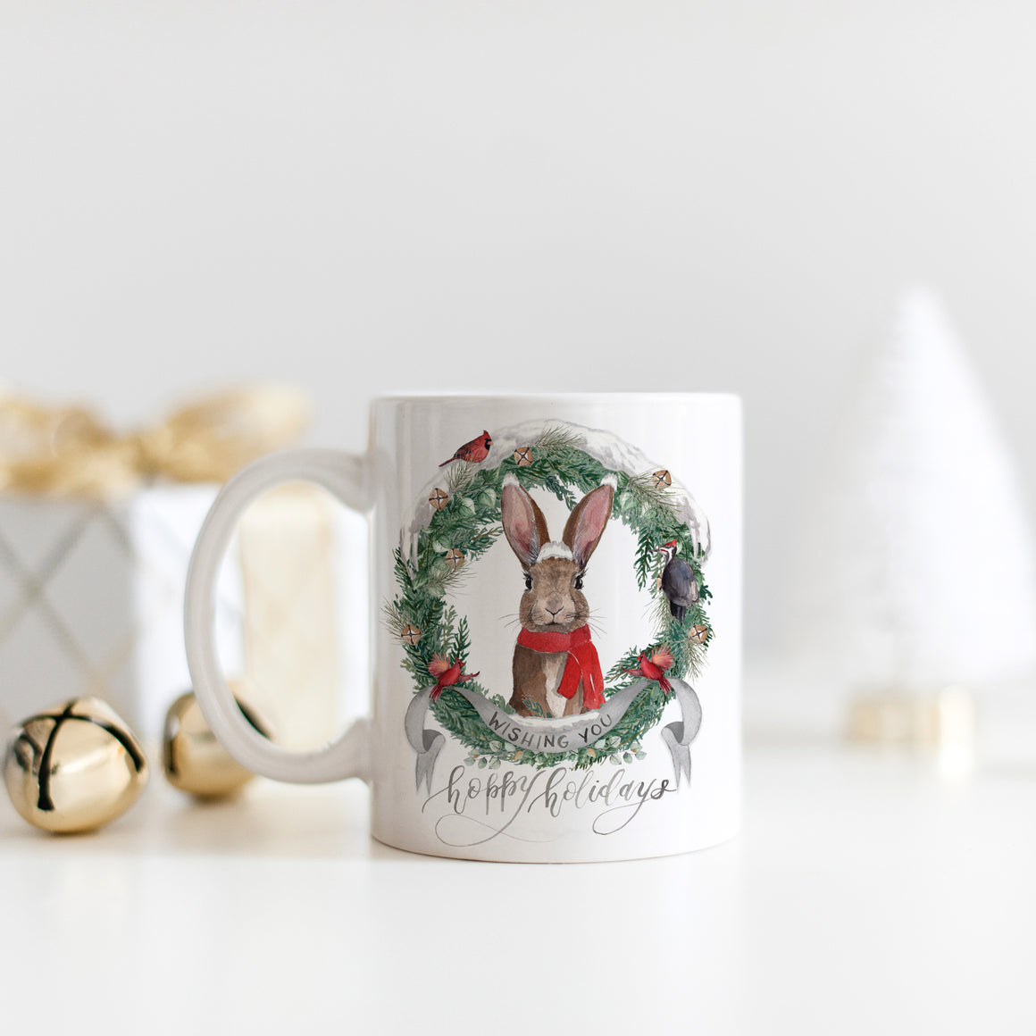 Wishing You Hoppy Holidays Mug