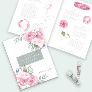 Intro to Watercolor Florals Booklet
