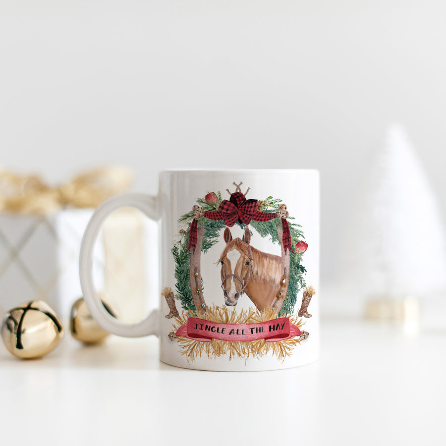 Jingle all the Hay Mug