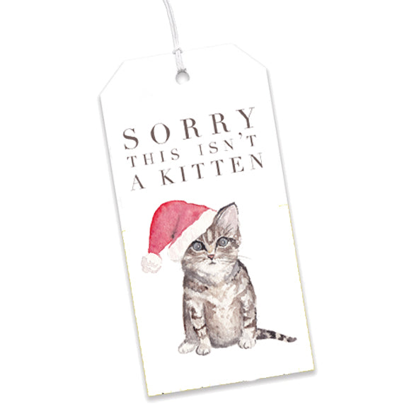 Sorry This Isn't a Kitten Gift Tags