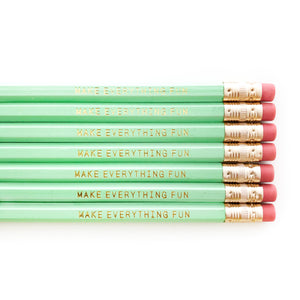 Make Everything Fun Pencil Set