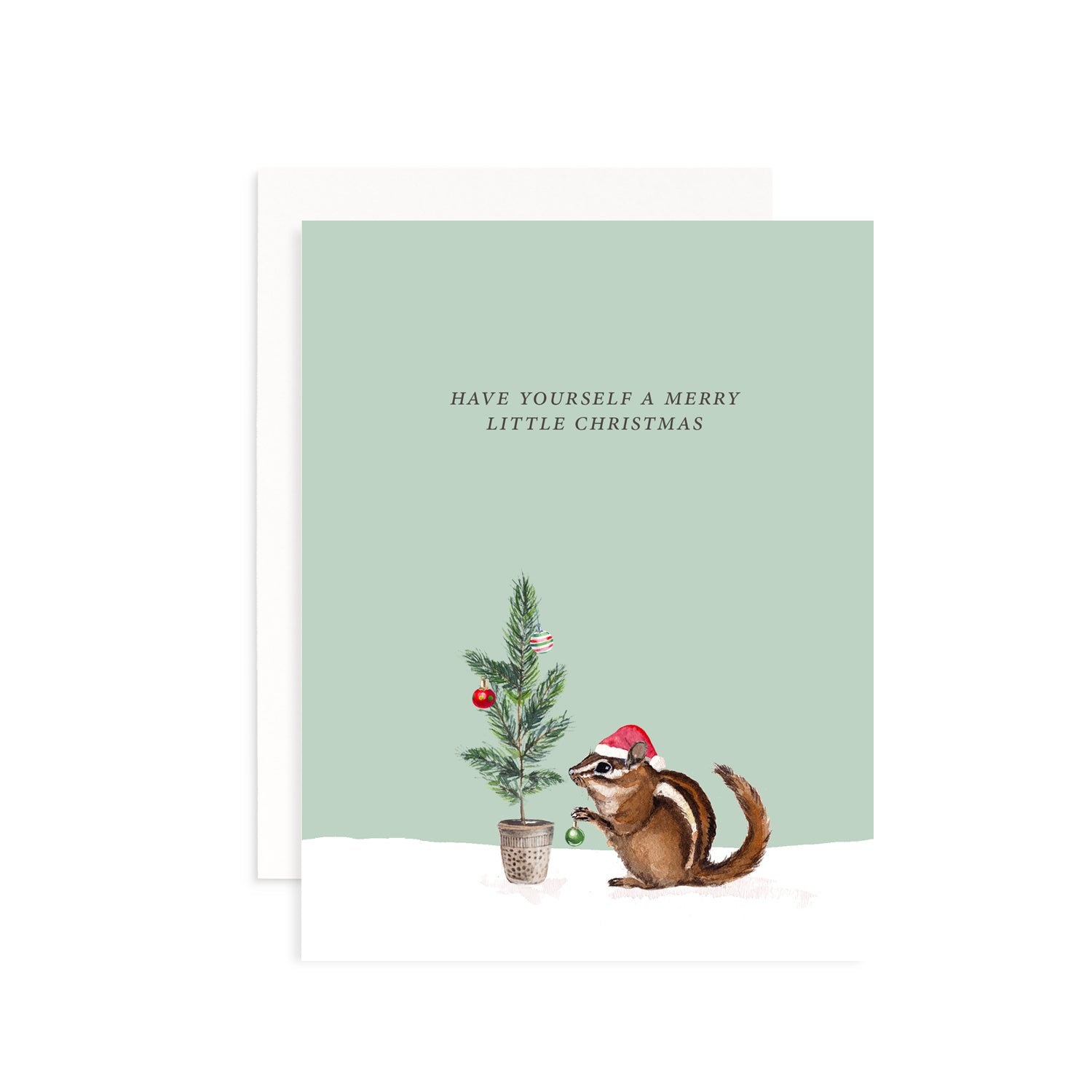 Merry Little Christmas Greeting Card Greeting Card