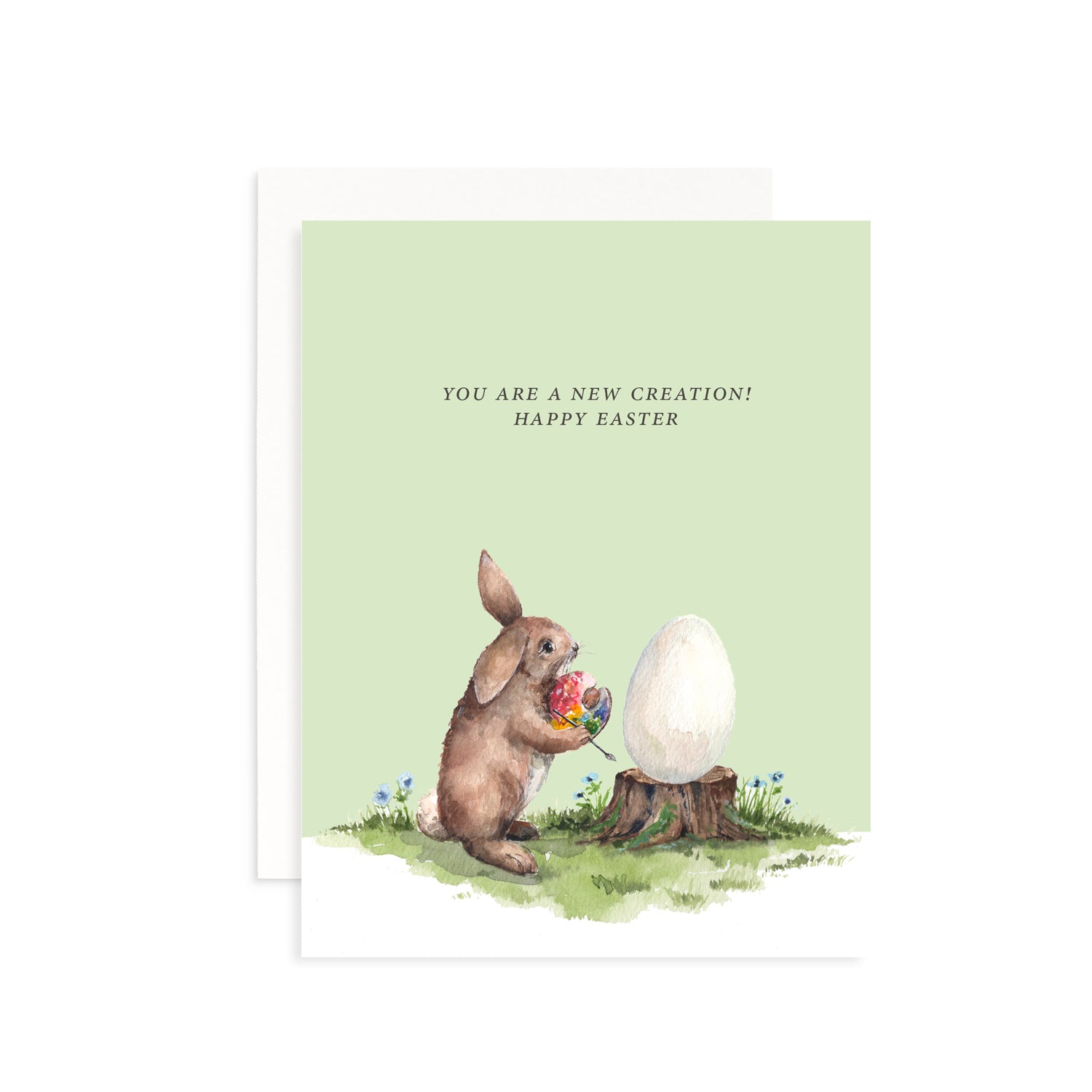 You Are A New Creation Easter Card