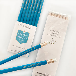 Overthinkers Club Pencil Set