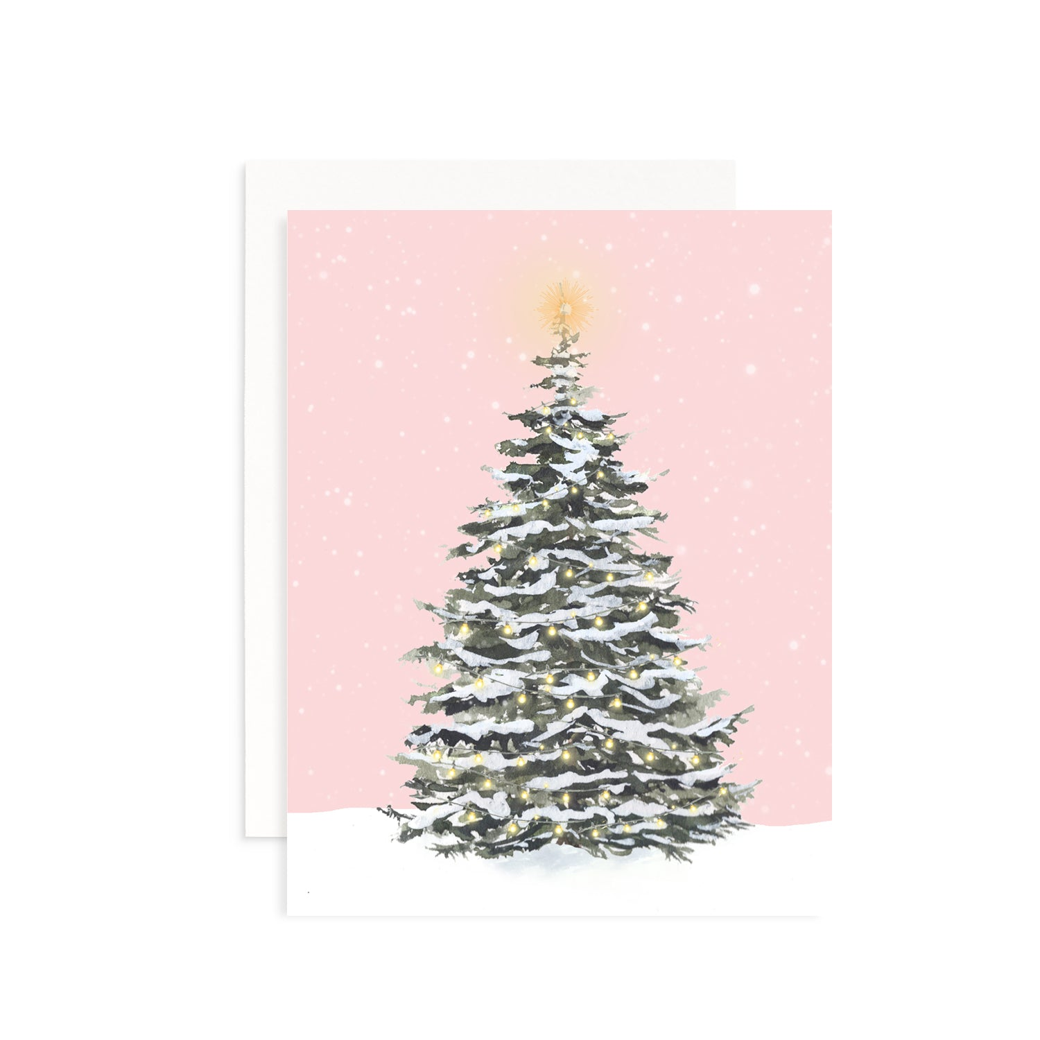 Perfect Tree Greeting Card