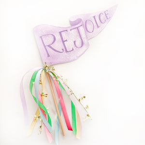 Rejoice Party Pennant