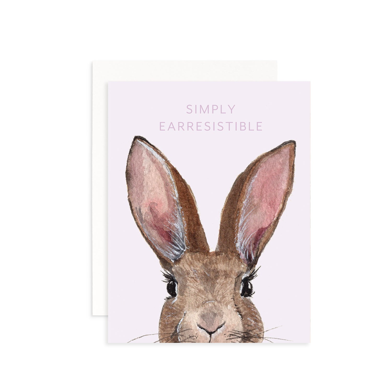Simply Earresistible Greeting Card