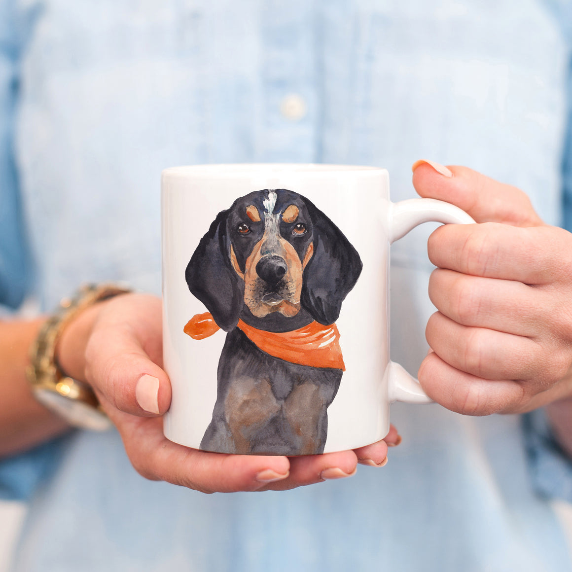 Smokey is My Spirit Animal Mug