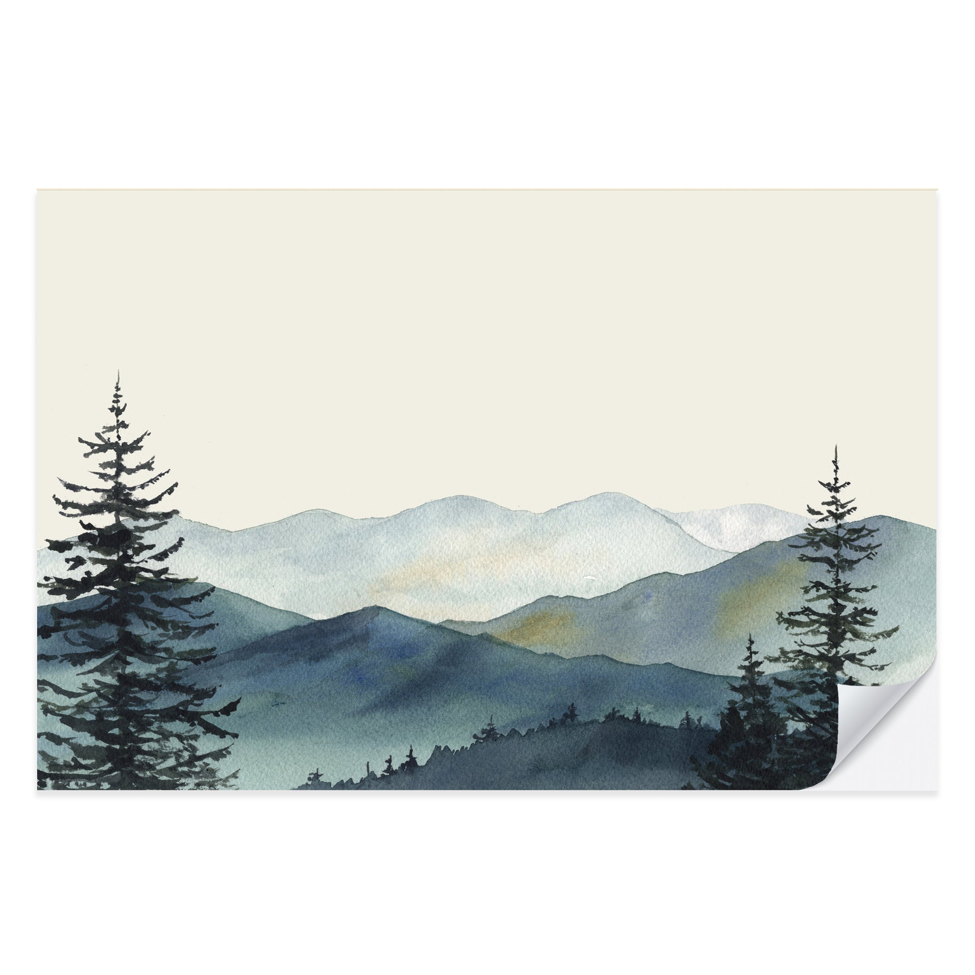 Great Smoky Mountains Placemat Pad