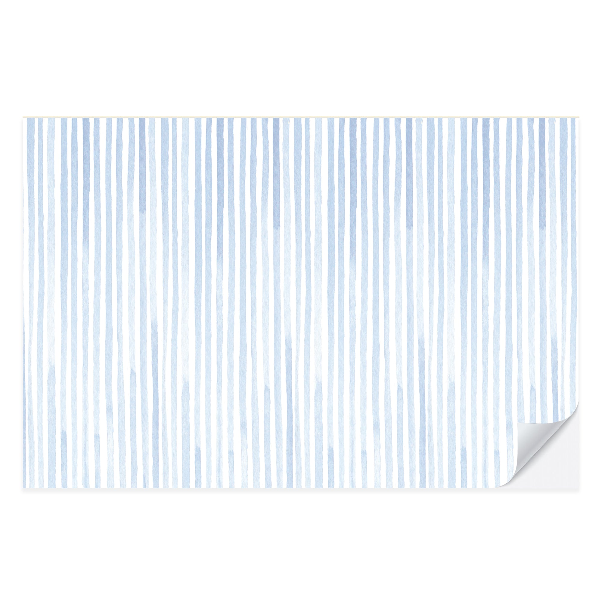 Blue Seersucker Placemat Pad