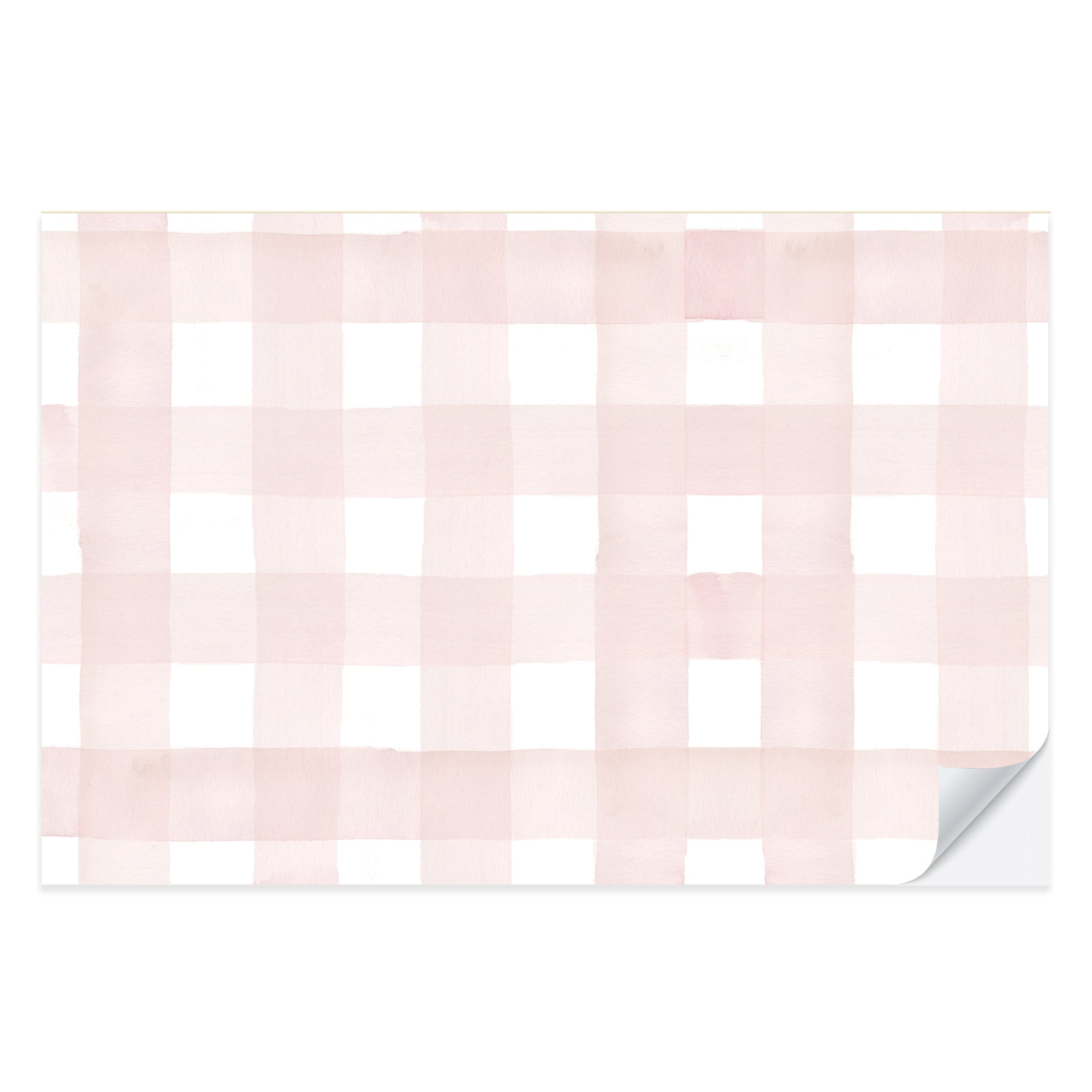 Blush Gingham Placemat Pad