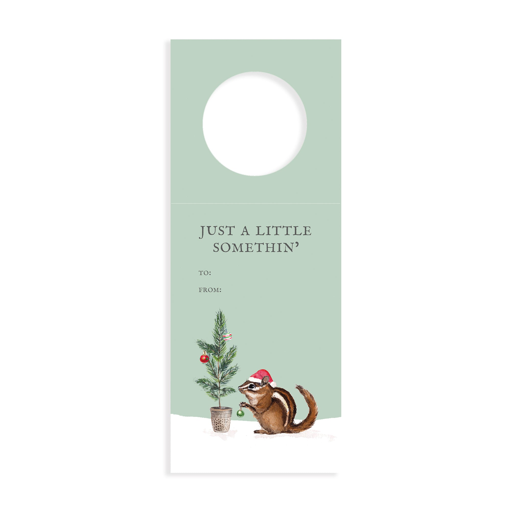 Just a Little Somethin' Wine Tags