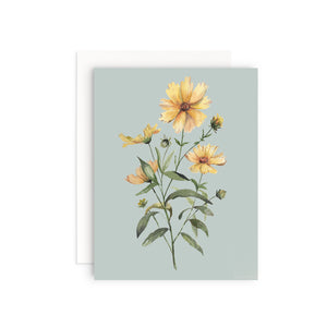 Coreopsis Greeting Card