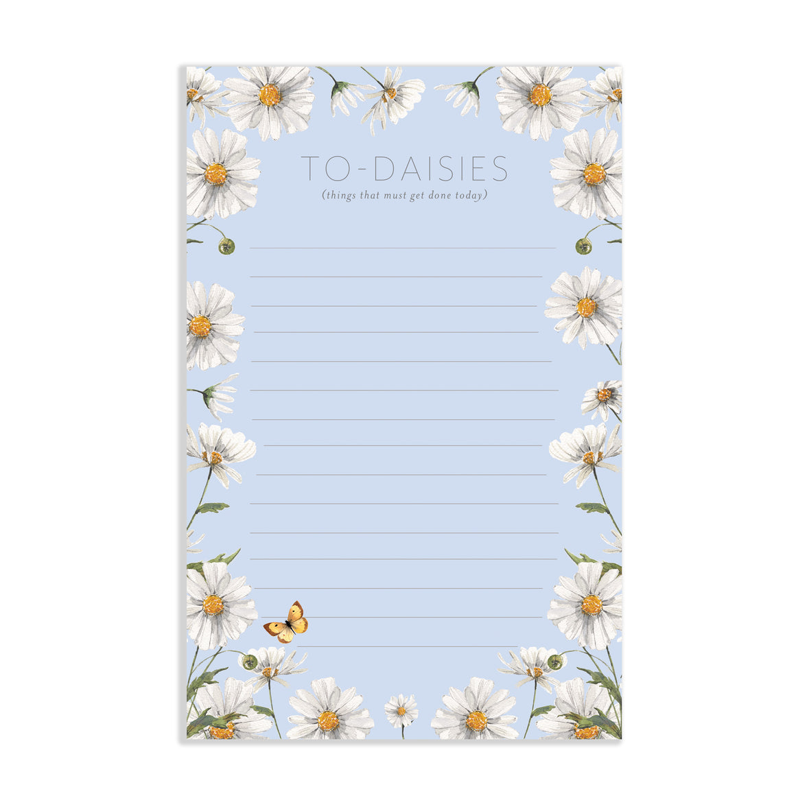 To-Daisies Notepad