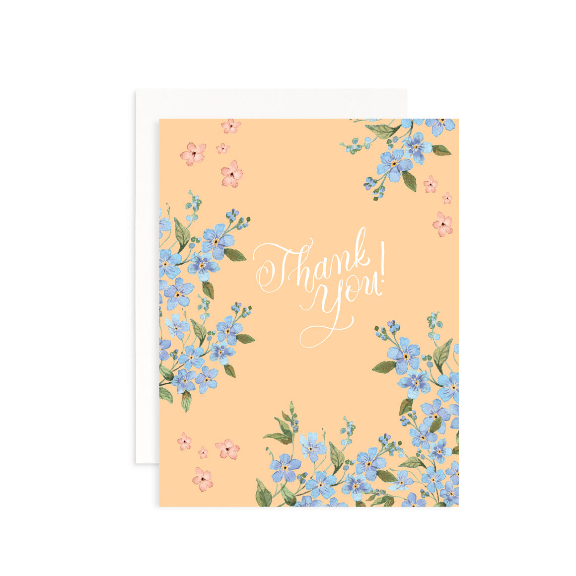Spring Fling Thank You Greeting Card