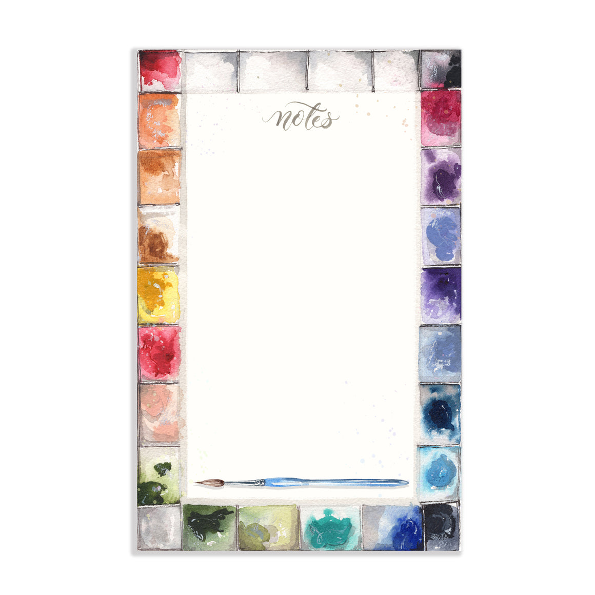 Paint Palette Notepad