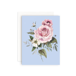 Rose Bunch Greeting Card