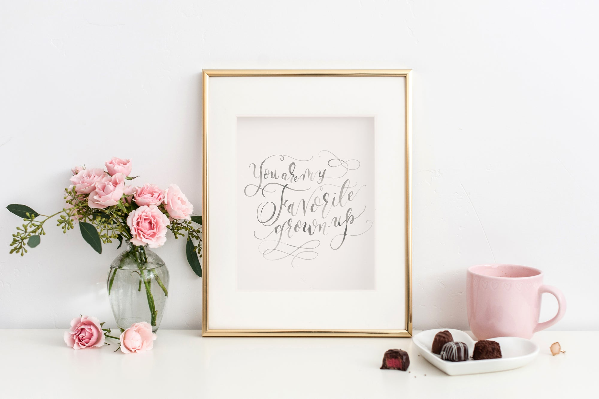 You are my Favorite Grown Up Art Print